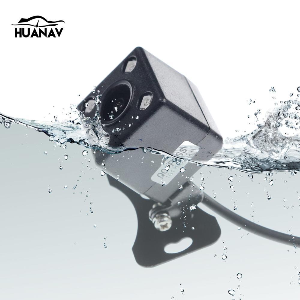 Universal Auto Rückansicht Kamera für die Meisten der auto Wasserdicht mit 4 LED Nachtsicht Fahrzeug Einparkhilfe Kameras