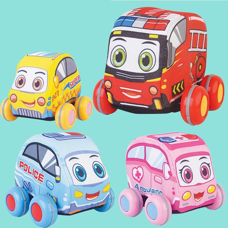 4 шт./партия, детская одежда, подвешивающая машина, игрушки для детских погремушек, случайные, для новорожденных, учатся ходить, дети, колокол