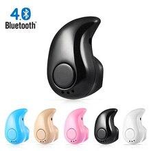 Mini Senza Fili di Bluetooth del Trasduttore Auricolare in Ear di Sport con Il Mic Auricolare Auricolari per Tutto il Telefono Per Samsung Per Xiaomi Android