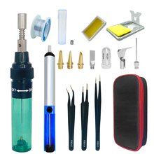 Tip-Tool Pen-Burner Iron Blow-Torch Gas Welding Butane Cordless 1300 Celsius