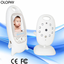 New Wireless Video Baby Sleeping Monitor 2.0 inch Color Security Camera 2 Way Talk NightVision IR LED Temperature Monitoring