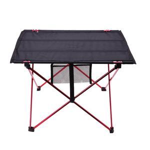 Image 1 - נייד קל משקל בחוץ שולחן עבור קמפינג שולחן אלומיניום סגסוגת פיקניק מנגל מתקפל שולחן חיצוני Activties טוול שולחנות