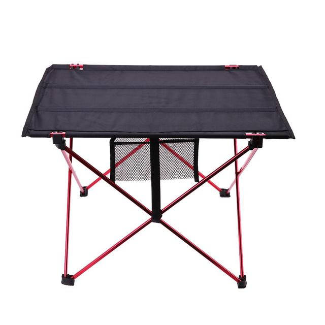 Portable Lightweight Outdoors Table For Camping Table Aluminium Alloy Picnic BBQ Folding Table Outdoor Activties Tavel Tables