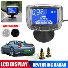 8-sonde Summer Auto Universal Umkehr Radar Front 4 PCS Hinten 4 PCS Sonde LCD Flüssigkeit Kristall Display Abstand display Matrix Krieg
