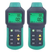 AC100-240V MASTECH MS5908A/MS5908C ЖК-анализатор цепи с напряжением GFCI RCD тестер инструменты