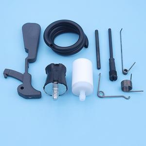 Image 4 - Gas Fuel Tank Rear Handle Repair Kit For Husqvarna 181 281 288 288XP 281XP Chainsaw Throttle Latch Arm Spring AV Buffer Vent