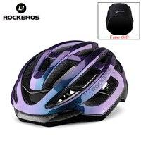 ROCKBROS 2019 Radfahren Helm Männer Fahrrad Ultraleicht Integral geformten Helm Frauen MTB Straße Mountainbike Atmungs Aero Helm