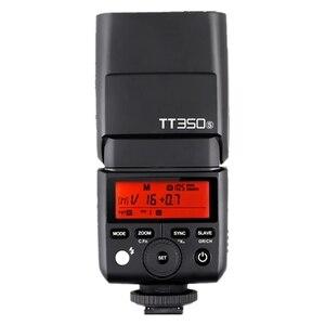 Image 3 - Đèn Flash GODOX Mini TT350S TTL HSS 2.4GHz Đèn Flash Máy Ảnh TT350 + X1TS Kích Hoạt Cho Sony A6000 A6500 Máy Ảnh Mirrorless Máy Ảnh Dslr a7 Serie Máy Ảnh