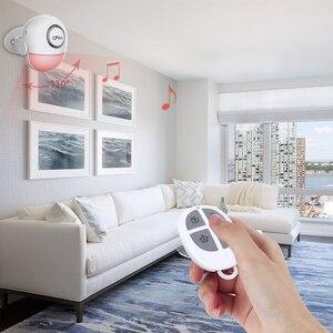 Image 3 - Cpvan pirモーションセンサーワイヤレス赤外線警報器ホームセキュリティ盗難検出器125dBアラーム音量追加リモコン