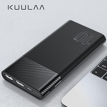 KUULAA Power Bank 10000mAh PowerBank Portable Charging Pover
