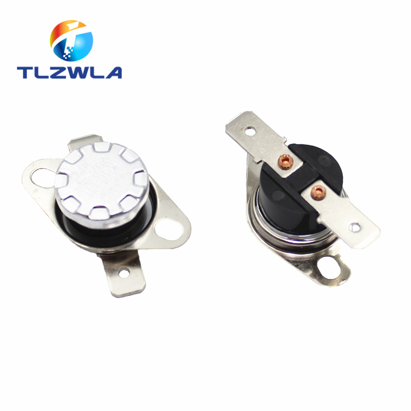 2PCS Normally Open KSD301 10A 250V 40-135 Degree Bakelite KSD-301 Temperature Switch Thermostat Sensor 50 60 65 70 75 80 90 100