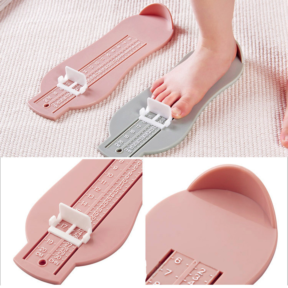 Toddler Newborn Baby Shoes Baby Girl Shoes Baby Boy Shoes Foot Measure Gauge Size Measuring Ruler Tool First Walker Accessories | Happy Baby Mama