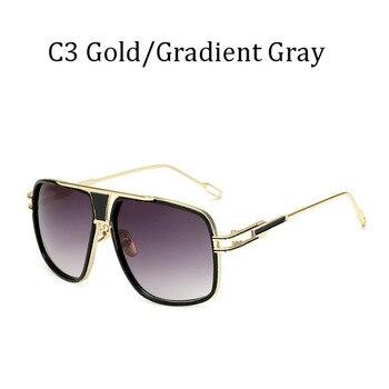 New fashion big frame Γυαλιά ηλίου Ανδρικά τετράγωνα γυαλιά οδήγησης για γυναίκες υψηλής ποιότητας ρετρό γυαλιά ηλίου αποχρώσεις gafas 12 χρώματα