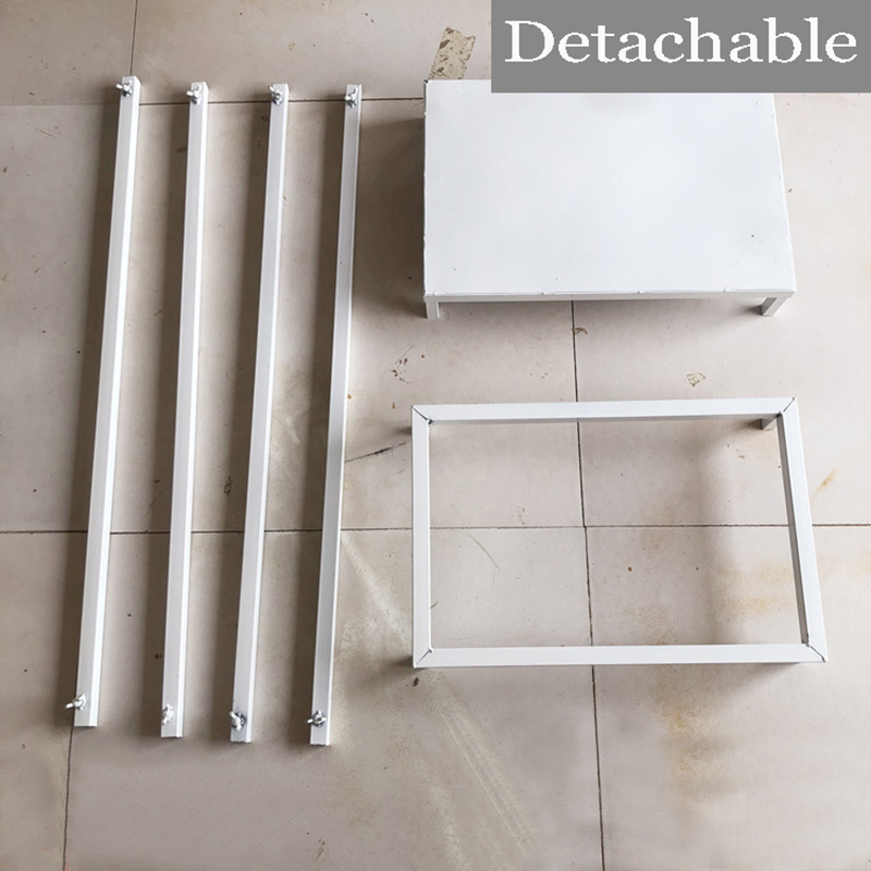 wedding : Rectangular Wedding Home flowers stand table decoration white stand for party background geometry road lead flower rack decor