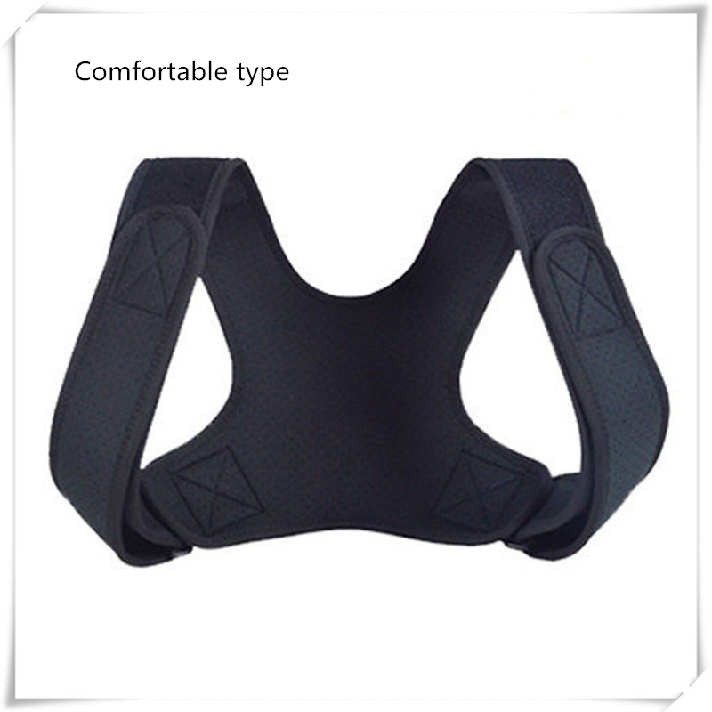 Adjustable Posture Corrector Back Support Shoulder Belt Rectify Straighten Correction Pain Relief Beauty Men Women Kids