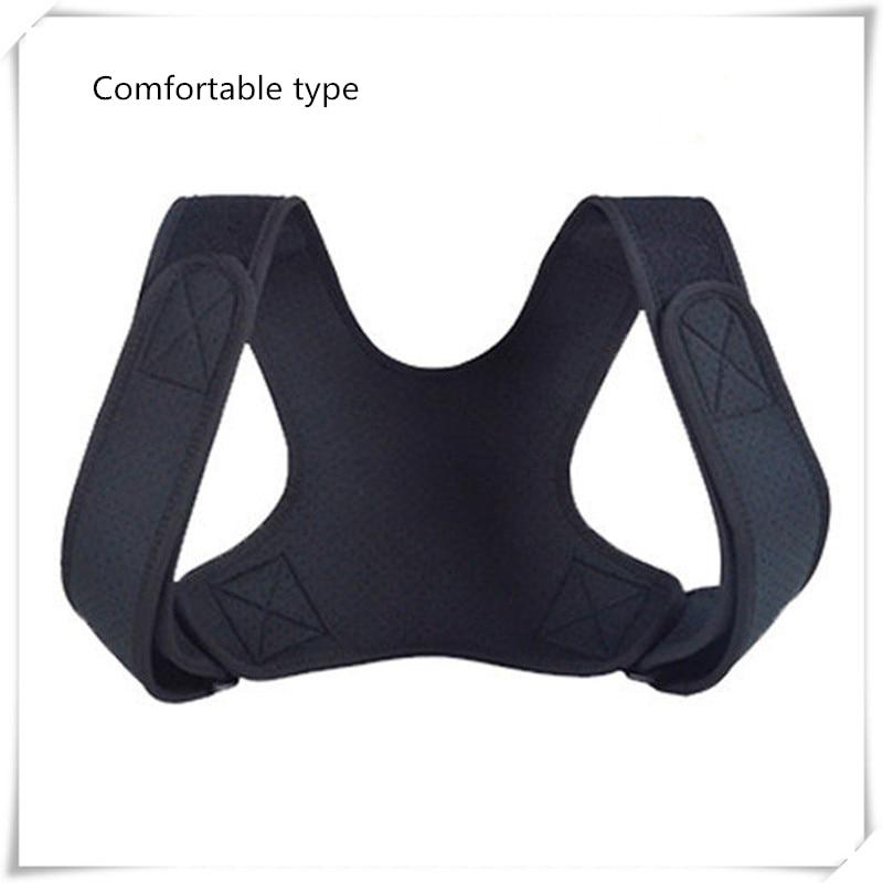Adjustable Posture Corrector Back Support Shoulder Belt Rectify Straighten Correction Pain Relief Beauty Men Women Kids