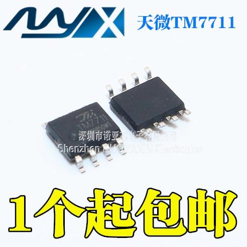 10pcs/lot TM7711 Replaces TM7709 24-bit AD Analog-to-digital Converter Chip IC Pressure Temperature Transfer SOP8