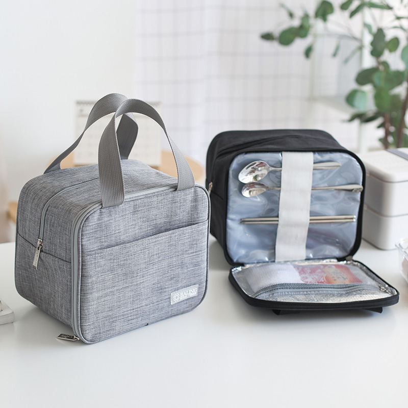 Portable Waterproof Cooler Bag Bento Box Tote Container Food Drink Lunch Thermo Bag Travel Picnic Necessity Kit Accessories Item