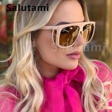 Квадратные мужские солнцезащитные очки от роскошного бренда