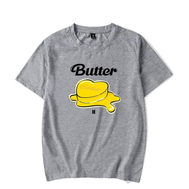 BTS BUTTER THEMED T-SHIRT (20 VARIAN)
