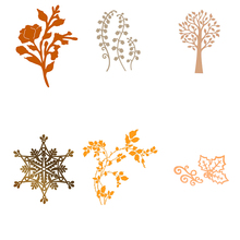 Eastshape Snowflake Flower Plant Shape Metal Cutting Dies 2019 New For Scrapbooking and Card Making  Stencil Crafts Cuts