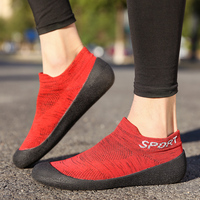 Men Black Blue Grey Red Shoes Running Sneakers Tenis Feminino Mesh Lace up Ultralight Breathable Casual Shoes Size 35 46