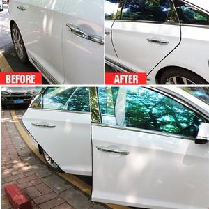 Image 3 - Auto Tür Protector Auto Rand Stoßstange Schutz Schutz Scratch Streifen Gummi Abdichtung Zierleiste Auto Styling Für Audi BMW Ford SUV