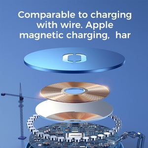 Image 4 - New 15W ultra thin Magnetic Suction Wireless Charger For  iPhone 12 12 Pro Max Fast Wireless Charging For  iPhone 12 Mini Phone