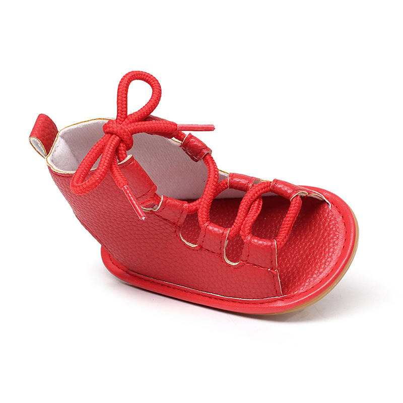 Hot Sale Baby Moccasins Soft Lace-up Baby Summer Shoes Chaussure Newbron Baby Boys Girls Toddler Shoes Footwear