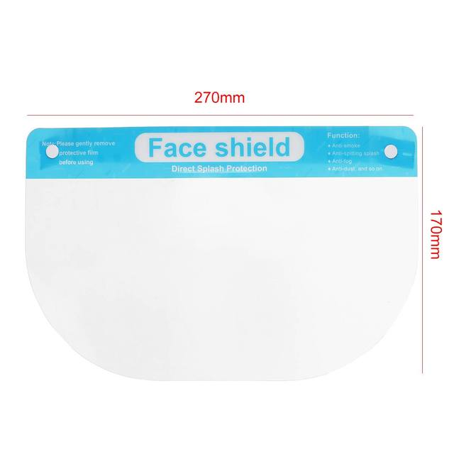 5/10pcs Child Protective Face Mask Anti-fog Dust-proof Anti-spatter Waterproof Safety Full Facial Cover Shield 5