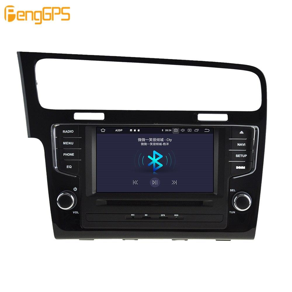 Android 9.0 4 + 64GB DVD player Eingebaute DSP Auto multimedia Radio Für VW Golf 7 2013 2017 GPS navigation Stereo Audio - 2