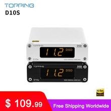 RICHT D10S MINI USB DAC AMP CSS XMOS XU208 ES9038Q2M DSD256 PCM 384kHz Audio Verstärker Decoder D10 S