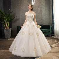 Vestido Cocktail New Arrival Short Sen Is A Light Dress 2020 New Bride Word Shoulder Fairy Neat, Fantasy Woman Street In Suzhou