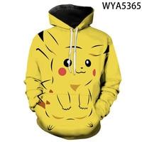 New Games Pokemon Fashion Casual Boy Girl Kids 3D Printed Hoodies Sweatshirts Men Women Children Long Sleeve Streetwear Jacket 2