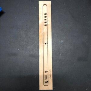 Image 3 - Japão lâmina de aço dados de couro molde documento leathercraft aleta bagagem tag oco perfurador molde diy mão ferramentas de couro dados corte
