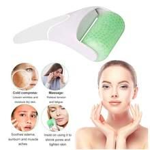 Rolo de gelo do rolo da cara de oloey para o rosto e os olhos-impeça enrugamentos, os poros do psiquiatra eliminam o edema, aliviam a dor, produtos dos cuidados com a pele