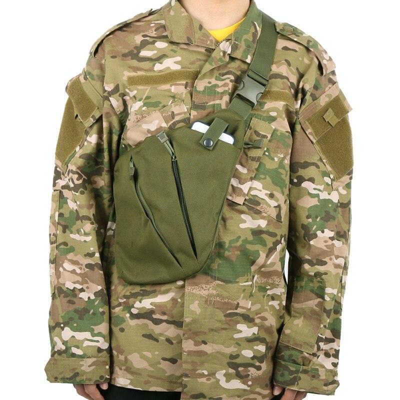 600D Nylon Sling Chest Bag Back Travel Climbing Hiking Bags Cross Body Messenger Shoulder Pack Chest Bags Outdoor Bags