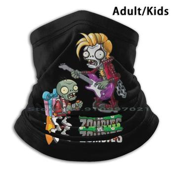 Plants Vs Zombies | Zombie Metalhead Characted 5 Scarf Mask Neck Warmer Face Wraps Foulard Bandana Mascarillas Plants Vs image