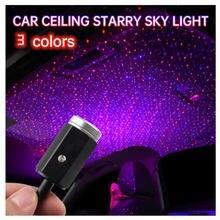 Светодиодный ночник на крышу автомобиля проектор с usb разные