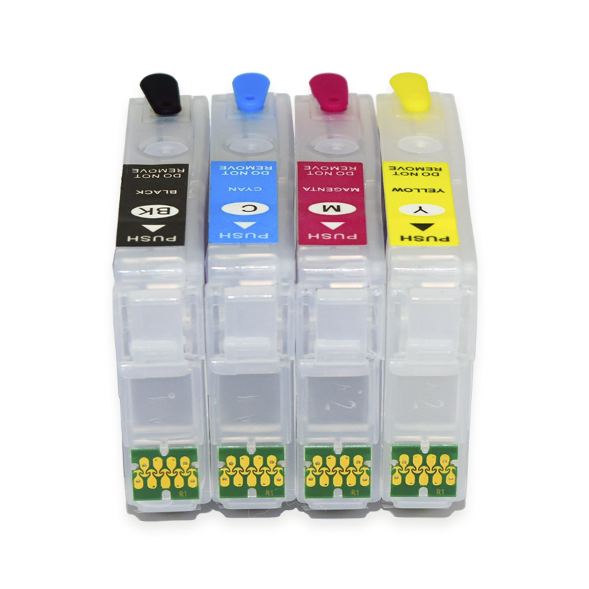 Europe T34XL T3471-T3474 Refillable Ink Cartridge With ARC Chip For Epson Workforce Pro WF-3720 WF-3725 Printer