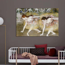 Nordic Modern Dance Moment Realist Fashion Style Canvas Painting Art Print Poster Picture Wall Living Room Home Decor nordic art elephant walking moment abstract fashion style canvas painting art print poster picture wall living room home decor