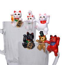 Table-Ornament Figurine Mini for Children Girl Manual-Pendant-Toys Rim Hanging-Cup Landscape