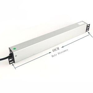 Image 5 - PDU Power Strip Surge Protector 9 Way USปลั๊กสวิทช์ป้องกันการโอเวอร์โหลดเครือข่ายตู้แร็คซ็อกเก็ตขยาย2Mสายไฟ