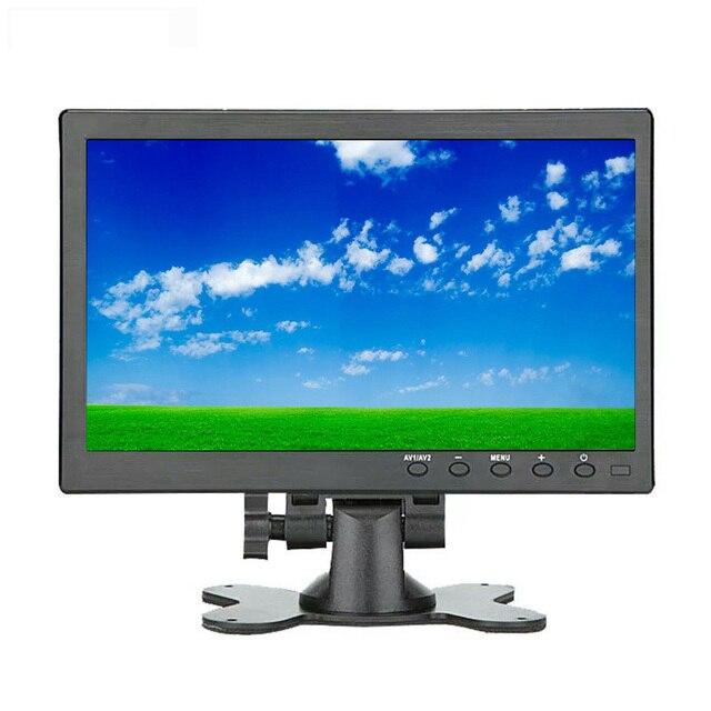 Мини монитор с сенсорным экраном 10,1 дюйма, ЖК дисплей full HD, IPS 1920*1200, BNC AV VGA HDMI