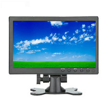 10.1 polegada portátil computador completo hd lcd tela de toque monitor pc ips 1920*1200 display bnc av vga hdmi cctv mini monitor gamer(China)