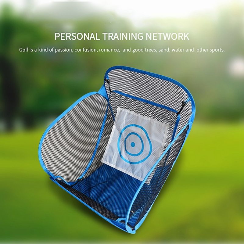Golf Practice Net Automatic Ball Return System Indoor Outdoor Training Net For Practice Party Golf Training Aids