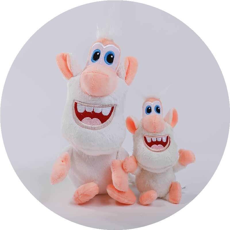 Прямые продажи с фабрики, маленькая белая свинья, мягкие игрушки, русские взрывчатые Мультяшные медные Booba Buba, подарок на день рождения