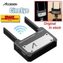 במלאי Accsoon CineEye אלחוטי 5G 1080P Mini HDMI שידור מכשיר וידאו משדר עבור IOS iPhone עבור iPad andriod טלפון