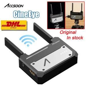 Image 1 - In Magazzino Accsoon CineEye Dispositivo di Trasmissione Wireless 5G 1080P Mini HDMI Video Trasmettitore Per IOS iPhone per iPad andriod Telefono