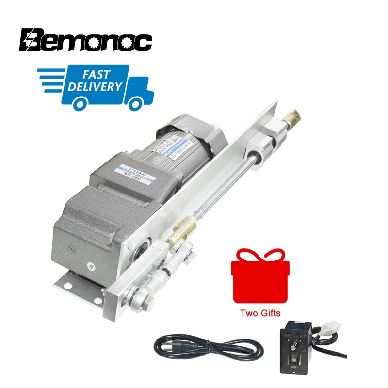 120W AC Electric <font><b>Motor</b></font> Linear Actuator+Speed Controller Kits 110V/<font><b>220V</b></font> AC <font><b>Geared</b></font> <font><b>Motor</b></font> Stroke 160mm/6.3inch for Spraying Machine image